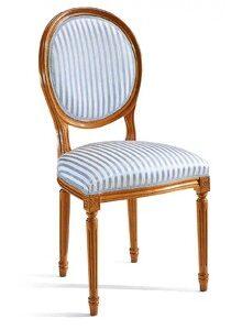 sedia ovale Luigi XV
