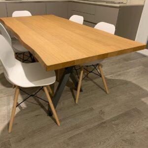 Tavolo legno di Rovere naturale